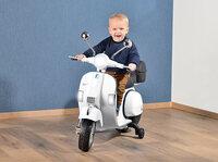 """Playtastic Elektro-Kinder-Motorroller """"Vespa"""", weiß"""