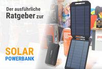 Solar-Powerbank: ausführlicher Ratgeber verfügbar