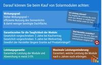 Ratgeber: die passenden Solarmodule für Ihre Photovoltaikanlage