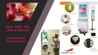 NoviSign startet Vermarktung der Digital Signage Sanitizer
