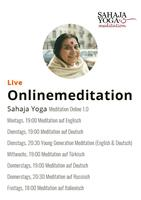 Bekämpfe die Corona Krise mit Sahaja Yoga Meditation