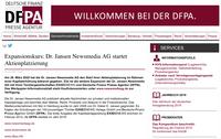 Expansionskurs: Dr. Jansen Newsmedia AG startet Aktienplatzierung