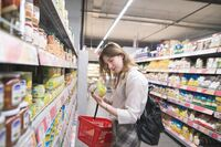 CO2-Vermeidung beim Supermarkt-Einkauf