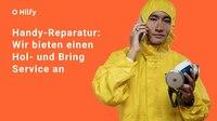Auf Hilfy online buchen: Hol- und Bring Service für kaputte Handys