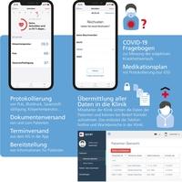 App für die Betreuung von COVID-19 Patienten