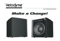 """Velodyne Acoustics DD-10 Plus Subwoofer - Geld sparen mit der Trade-In-Aktion """"Make a Change"""""""