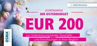 #Corona: OSMA-Aufzüge unterstützt lokales Kleingewerbe bundesweit mit 175.000 Euro!
