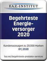 Siegel für HanseWerk: Begehrtester Energieversorger 2020