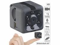 Somikon HD-Micro-Videokamera DV-709.cube & Webcam, HD