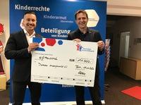 Unternehmen Stolzenburg Sicherheit & Service GmbH spendet 11.000 Euro an das Deutsche Kinderhilfswerk