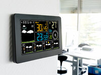 infactory WLAN-Funk-Wetterstation FWS-800
