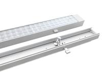 LED-Lichtbandsanierung bei laufendem Betrieb -Austausch in weniger als 60 Sekunden pro Leuchte