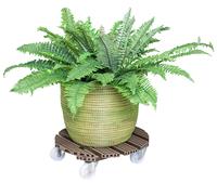 Perfekt für draußen: Pflanzenroller aus WPC