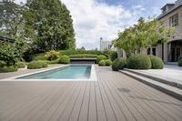 Urlaubsfeeling im eigenen Garten: Poolumrandung mit Twinson Terrassen