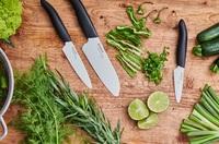 #stayathome mit Kyocera: Keramikmesser erleichtern die Zubereitung gesunder Mahlzeiten
