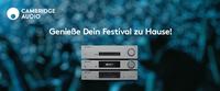 CAMBRIDGE AUDIO RABATT-AKTION - PREISNACHLÄSSE FÜR BESITZER VON FESTIVAL-TICKETS