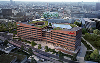 Neues CO2-neutrales Bürogebäude in Offenbach-Kaiserlei