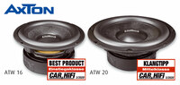 Nice sounding woofers at a nice price - AXTON ATW16 and ATW20