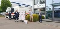 Masken für die Region: QMS Medicosmetics spendet 18.000 Masken an DRK Kreisverband Emmendingen e.V.