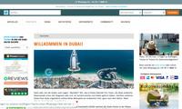 Mega-Reisemetropole Dubai mit Dubai.CityGuideLounge.com entdecken