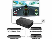 auvisio HDMI-Video-Rekorder GC-100