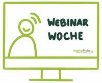 Kostenlose Webinar Woche für Interim Manager