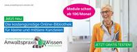 """Neue Online-Bibliothek """"Anwaltspraxis Wissen"""""""