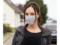 PEARL Mund-Nasen-Stoffmaske mit Nanofilter