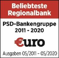 PSD Bank Hannover eG gehört zum 10. Mal in Folge zu den beliebtesten Regionalbanken Deutschlands