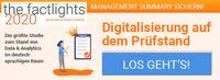 the factlights 2020: Stellschrauben einer gelungenen Digitalisierung