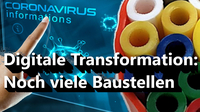 Nachholbedarf bei der Digitalen Transformation