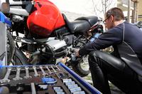 Sicheres Motorradvergnügen - Verbraucherinformation der ERGO Group