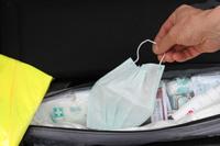 Mundschutz gehört jetzt in den Erste-Hilfe-Koffer
