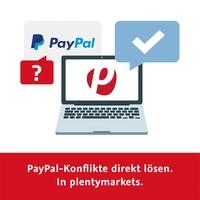 plentymarkets integriert als erster deutscher E-Commerce-Anbieter das PayPal-Konfliktmanagement...