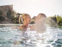 Poolüberdachung Swimmingpool - Badesaison verlängern