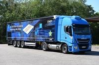 Wille Logistik und CHEP: mit Gas-LKW den CO2-Ausstoß reduzieren