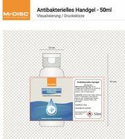 Antibakterielles Desinfektionsspray und Handgel mit individuellem Aufdruck