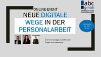 Onlinevorträge: Neue digitale Wege in der Personalarbeit