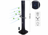 Sichler Haushaltsgeräte 3-stufiger Design-Turmventilator