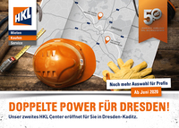 Doppelte Power für Dresden