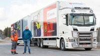 Längster Lkw fährt täglich 1.000 km - mit Flüssiggas