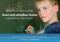 Jedes Kind kann richtig lesen und schreiben lernen!