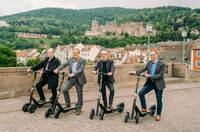 ZEUS Scooter rollen jetzt durch Heidelberg