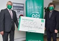 PSD Bank Hannover eG bleibt auch in der Corona-Krise ein verlässlicher Partner der MHH