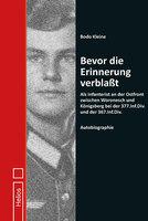 Bevor die Erinnerung verblaßt von B. Kleine - Helios-Verlag