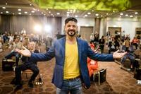SpeakerSlam Weltrekordhalter ruft zum Mut zu Neuem auf
