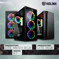 NEU: Kolink Observatory Lite (Mesh) RGB und Inspire K7 ARGB