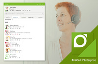 Available immediately: ProCall Enterprise in Version 7