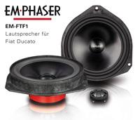 Besserer Klang im Fiat Ducato mit EMPHASERs Lautsprecher EM-FTF1
