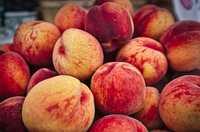 Im Juli hat der Pfirsich Saison - auch in der Teetasse